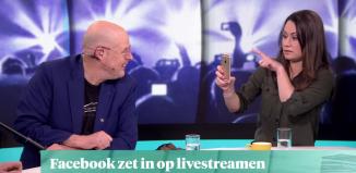 Livestreaming via Facebook