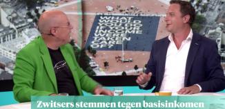 Felle discussie over het basisinkomen bij RTL Z