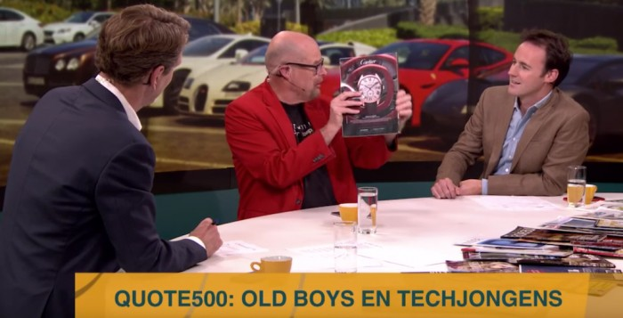 Old boys en techjongens domineren de Quote 500